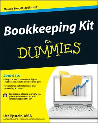 Bookkeeping Kit for Dummies By Epstein, Lita
